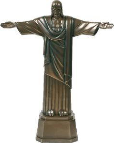 Christ The Redeemer Religious Figurine Statue Sculpture Statuary-Home Décor-Decorations-Christian Related Gifts-Available for Sale at AllSculptures.com
