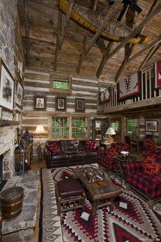 Home Design: Adorable 135 Rustic Log Cabin Homes Design Ideas r...