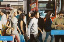 Ced Vernay fais du pixel art en forme d'SMS
