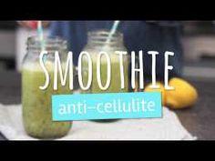 Smoothie anti-cellulite au thé vert, kiwis et citron - Bertina Huw. Smoothie Pomme Kiwi, Smoothie Diet, Healthy Smoothies, Healthy Drinks, Anti Cellulite, Cellulite Cream, Y Food, Salad In A Jar, Smoothie