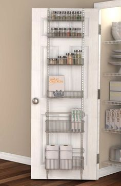 OvertheDoor Large Pantry Rack from Bed Bath and Beyond