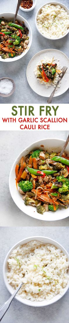 Stir-Fry with Garlic
