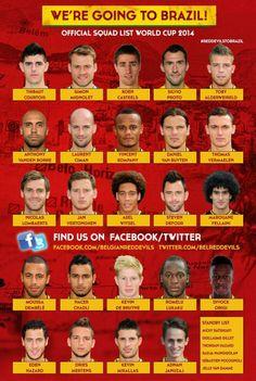 Belgium - The Red Devils