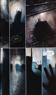 Arkham Asylum, Dave Mc Kean! Absolute classic modern graphic novel Batman, essential reading.
