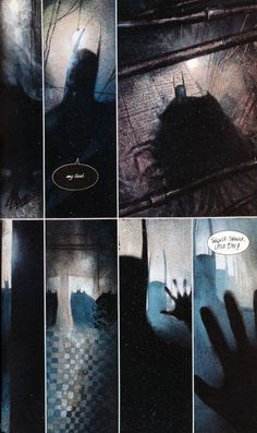 Arkham Asylum: A Serious House on Serious Earth. This is one of the more disturbing Batman books out there, thanks partly to the insane story by Grant Morrison but also the eerie illustration by Dave McKean