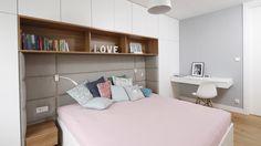 Znalezione obrazy dla zapytania zabudowa sypialni