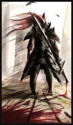Dark Souls,фэндомы,DS art,DS персонажи,Dark Souls 2,Old Dragonslayer
