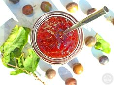 Damson Jam plus my tip for quick pitting! - Fab Food 4 All Damson Jam, How To Make Jam, Fish, Recipes, Pisces, Ripped Recipes, Cooking Recipes