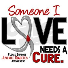 Needs A Cure 2 JUVENILE DIABETES Decal on CafePress.com