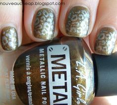 Review: As Seen On TV Salon Express Nail Art Stamping Kit (pic heavy)