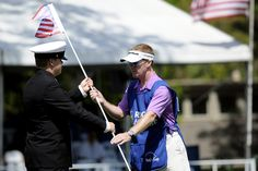 Stars and Stripes fly on the 16th green this year to salute military | Heritage Tournament | The Island Packet