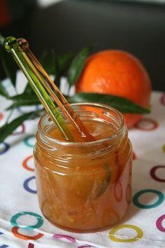 Confiture d'agrumes (orange, clémentine et pamplemousse)