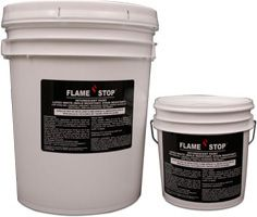 Fire Resistant | Paints, Coatings, Sealants | Flame Stop Inc. | Flame Stop IM (Intumescent Paint and Coating) | Meets Requirement NFPA 703, low smoke and Class A flame spread | Can be applied to paneling, gypsum board, plywood, picture frames, bamboo, and wood | Also provides stain and mold resistance | Can apply with spray, mitt, roll-on, or brush | 30 minute rated with 2 coat application Construction Drawings, Gypsum, Plywood, Basement, Picture Frames, Bamboo, Floor Plans, Fire, Smoke