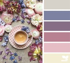 Design Seeds celebrate colors found in nature and the aesthetic of purposeful living. Colour Pallette, Colour Schemes, Color Patterns, Color Combos, Design Seeds, Palette Design, Color Balance, Balance Design, Colour Board