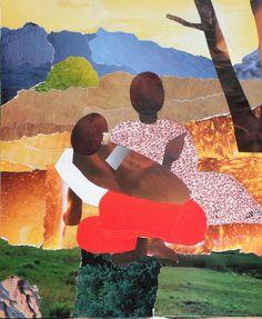 d'après Gauguin : collage