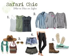 Safari Chic - What to Wear on Safari - Strum Simmer Sip