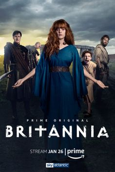 Amazon has announced season one of the Britannia TV show will premiere this month. Watch the TV series trailer, check out photos, and get the Britannia release date. Do you plan to check out this historical drama?