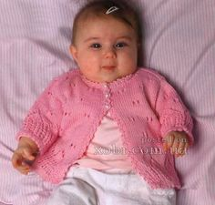 baby pink blouse knitting