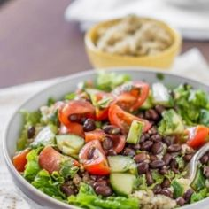 Mexican Quinoa Salad Bowl HealthyAperture.com
