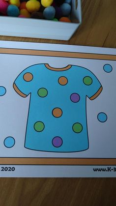 Looking for Pom Pom Pick Up Mats for your pre-k & Kindergarten kids? Download this Clothes theme Fine Motor Activity today from K-3 Resources for your classroom or home school
