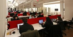 Buzzfeed's newsroom