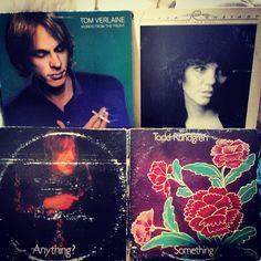 records! (Tom Verlaine, Linda Ronstadt, Todd Rundgren)