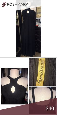 "Rachel Pally Maxi Dress NWT Rachel Pally Maxi Dress Size M (size tag removed) Straight hemline 92% modal, 8% spandex Black Length 44"" Has been professionally hemmed  53017M Rachel Pally Dresses Maxi"