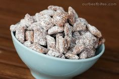 Muddy Buddies {PB & Choco Crunch} | Our Best Bites
