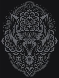 viciousteeth — Night Wolf by Hydro74