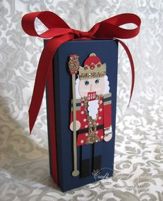 CraftProjectCentral.com » Blog Archive » Nutcracker Gift Box & Punch Art Page!