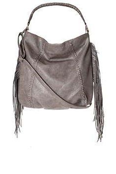 e9477de67f Womens   Tassel Slouchy Shoulder Bag by Glamorous - Brown