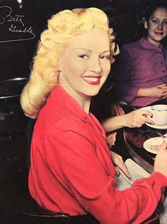 movielandscans:  Betty Grable, Photoplay, October 1945