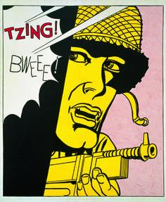 Roy Lichtenstein, 'Live Ammo (Tzing!),' 1962, RMN Grand Palais