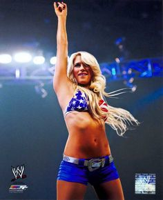 Kelly Kelly Wrestler Toys | WWE Kelly Kelly with Arm Raised 8 by 10