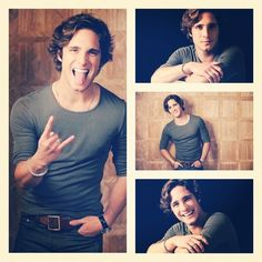 Diego Boneta: Drew Boley in ROCK of Ages.new crush Most Beautiful People, Beautiful Boys, Gorgeous Men, Haircuts For Wavy Hair, Wavy Hair Men, Rock Of Ages, Good Looking Men, Perfect Man, Celebrity Crush