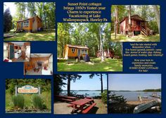 $109.000 for All! Sunset Point Fletch sided Cottages brings back ''Yester-year'' charm of vacationing at Lake Wallenpaupack w/campfire ring, walking stone path to swimming, fishing, picnicking at waters edge, Plus easy walk to public marina for the boat slip. Yellow cottage  2 bedrooms, 1 bath with living room fireplace. Red cabin needs kitchen and bath plus more attn. GREAT WOODED LOCATION & Fine selection of Family Restaurants next door to community. Currently used as summer rental…