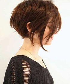 2016 Asymmetrical Short Hairstyles for Women