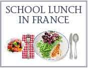 this blogger posts school lunch menus from around France!  How great.
