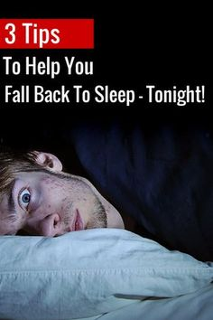 Tired of falling asleep only to wake up a few hours later wide awake? Don't be a zombie the next day, use these tips to fall asleep and STAY asleep.