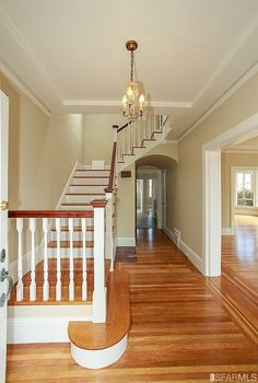 1924 Forrest Hill staircase. 294 31st Ave, San Francisco, CA 94121 (MLS #444422) #FoundOnRedfin