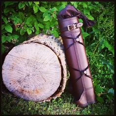 A Brown Ranger Quiver from www.RasherQuivers.com