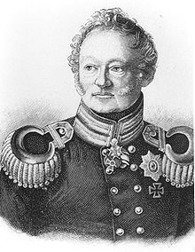 Baron von Muffling, Prussian Liason officer at Wellington's headquarters. From Adventures In Historyland.