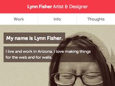 Portfolio refresh by Lynn Fisher
