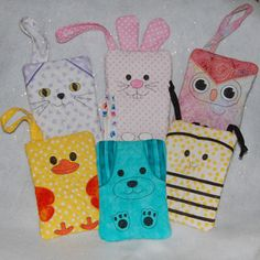 ITH Quilted Purses Three - Animals