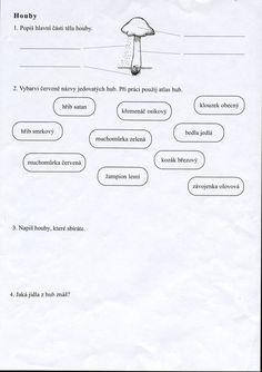 Výsledek obrázku pro houby pracovní listy Math, Math Resources, Early Math, Mathematics