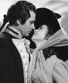 Laurence Olivier & Vivien Leigh in That Hamilton Woman, 1941