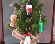 Wine Cork Ornaments, Angel Ornaments, Snowman Ornaments, Christmas Tree Ornaments, Snowmen, Reindeer, Christmas Lanterns, Christmas Wine, Christmas Crafts