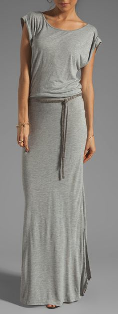 Comfy maxi dress--I love a maxi skirt/dress