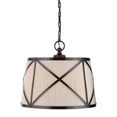 Check out the Visual Comfort CHC1483BZ-L Chart House 3 Light Grosvenor Large Single Pendant in Bronze priced at $1,154.90 at Homeclick.com.