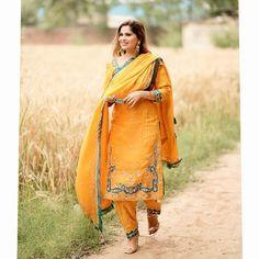 Designer Party Wear Dresses, Kurti Designs Party Wear, Designer Wear, Embroidery Suits Punjabi, Embroidery Suits Design, Embroidery Designs, Indian Dresses, Indian Outfits, Couple Wedding Dress